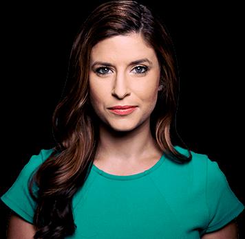 The Daily Rundown host Caitlin Burke