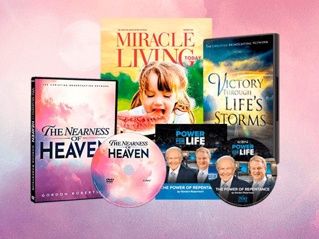 The Nearness of Heaven DVD bundle for Pledge Express
