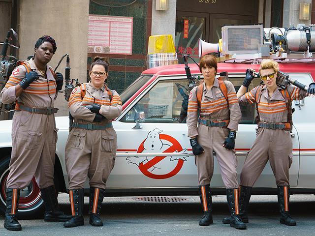 Ghostbusters, christian movie reviews
