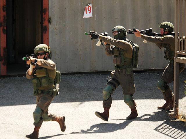 IDF Lotar Counter Terrorism School. Photo: Jonathan Goff/CBN News