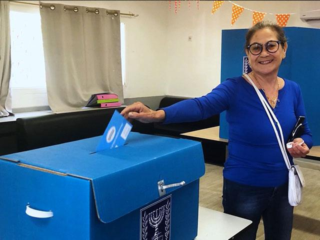Israel Election Voting, Photo Credit: CBN News