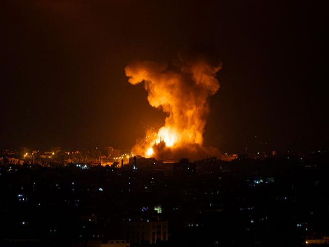 Tensions Spiral as Gaza Terrorists Shower Israel With Rockets, IDF Strikes Back