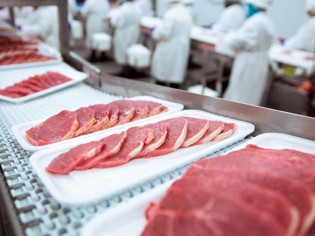 Meat packaging plant (Adobe stock image)