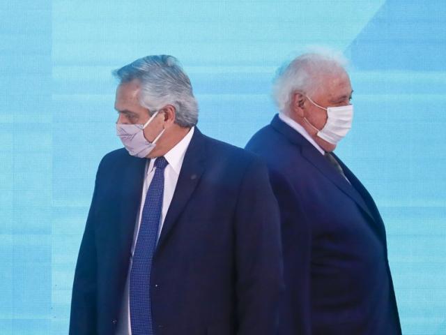 Alberto Fernández, Ginés González García, Foto AP -  Victor R. Caivano