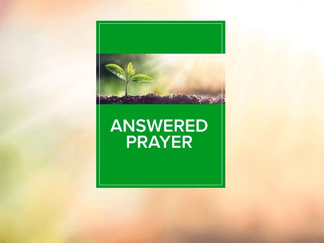 answered prayer resource