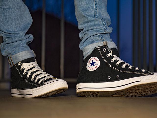 Converse shoes (Photo: Adobe stock image)