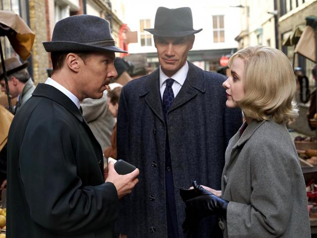 the courier movie benedict cumberbatch and rachel brosnahan