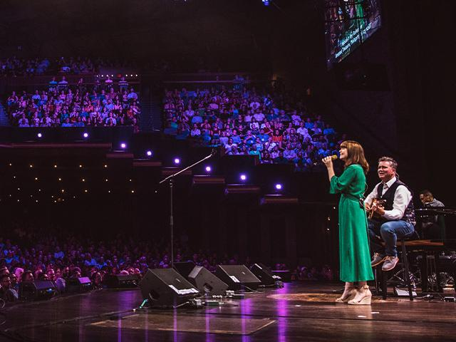 Keith and Kristyn Getty world conference