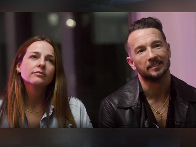 Laura and Carl Lentz (Image: screen capture from Hillsong NYC Instagram)