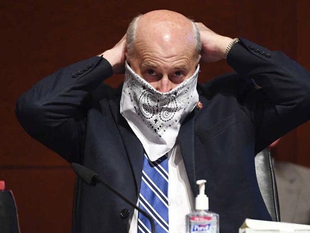 Rep. Louie Gohmert, R-TX (Photo: Kevin Dietsch/Pool via AP)