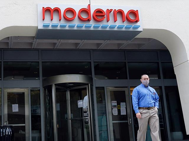 Moderna announced that an experimental vaccine against the coronavirus showed encouraging results in testing (AP Photo/Bill Sikes)