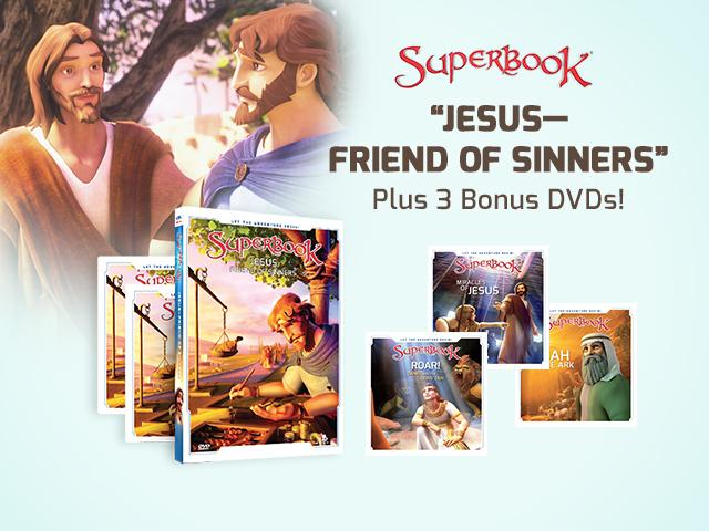 Superbook: Jesus, Friend of Sinners