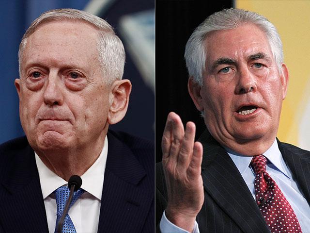 Tillerson and Mattis in South Korea