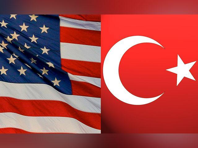 US-Turkey flags