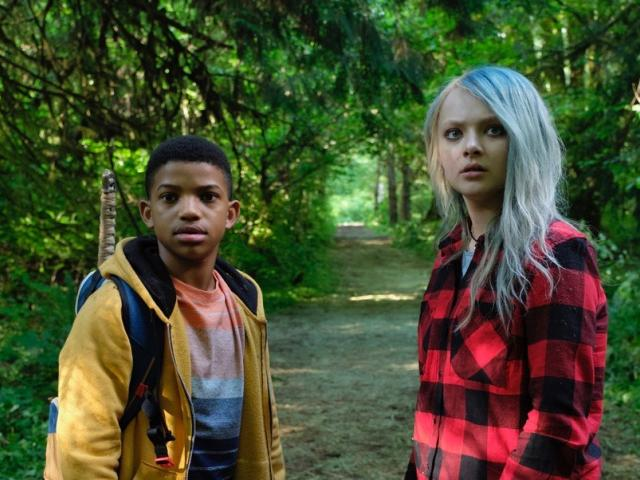 The Water Man movie two scared young teens in a forest