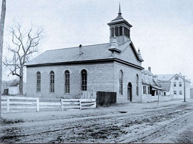 Historic black church (screen capture from WGR1017)