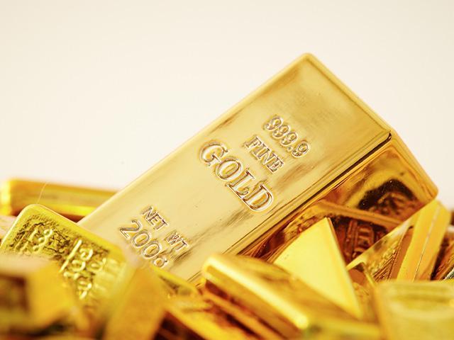 lots of gold bars