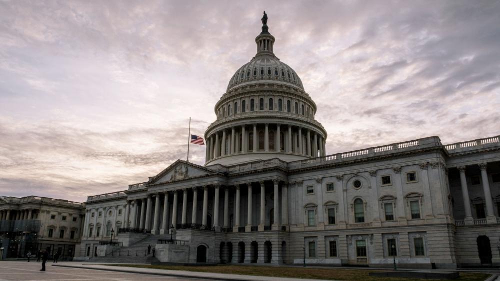 US Capitol building (Photo: Patrick Robertson/CBN News)