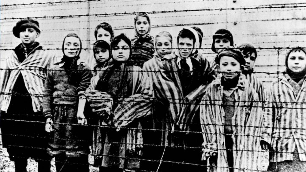 A picture taken just after the liberation by the Soviet army in January, 1945 in the Oswiecim (Auschwitz) Nazi concentration camp. (AP Photo/CAF pap, file)