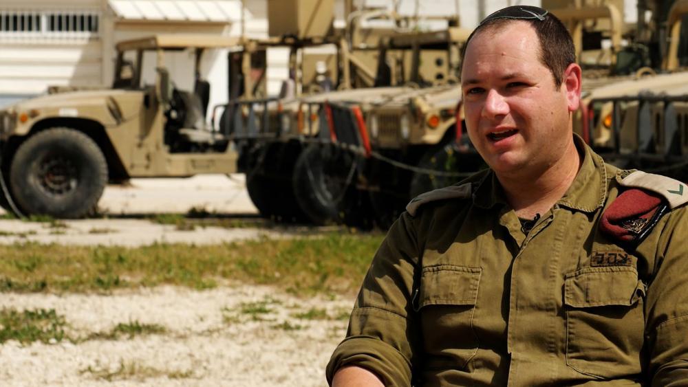 Jesse Ebner, IDF Sergeant First Class, Photo Credit: CBN News