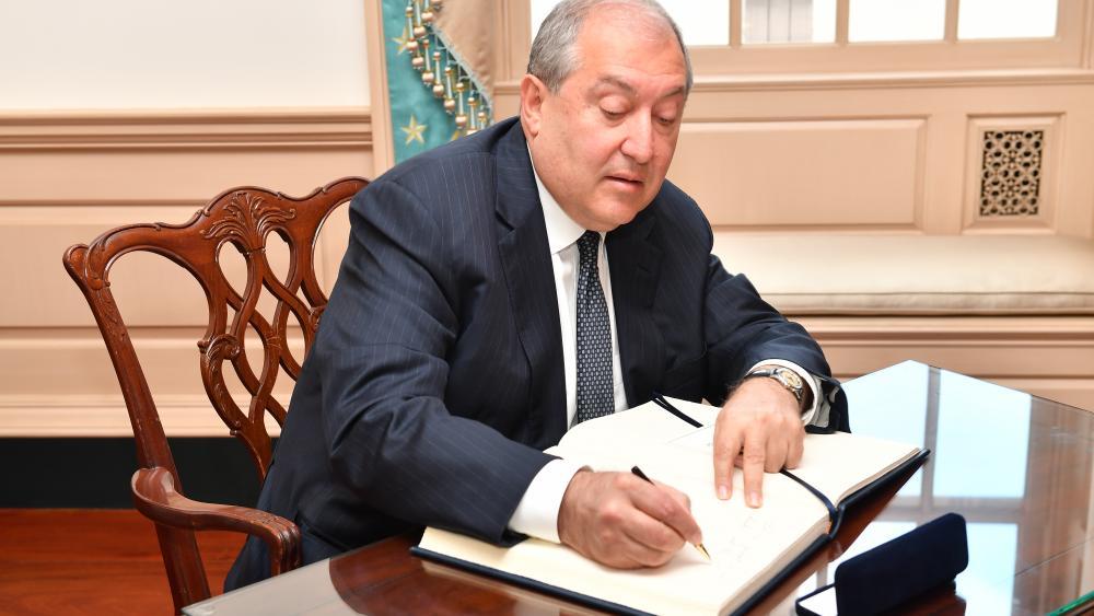President Armen Sarkissian of Armenia