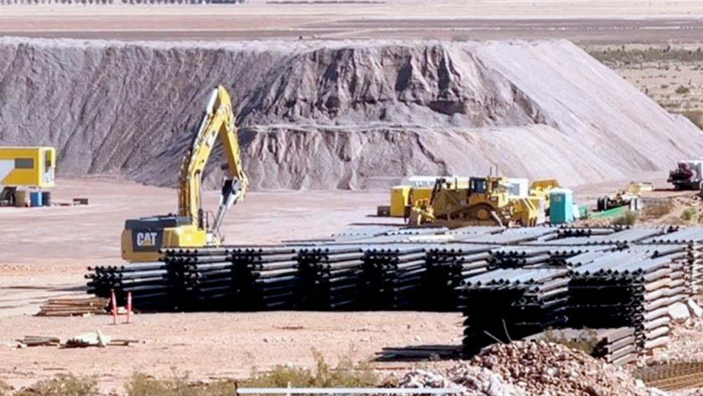 U.S. border wall halted in New Mexico (Photos all byChuck Holton/CBN News)