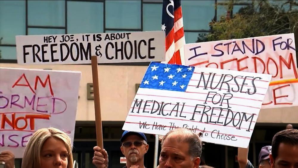 Vaccine Mandate Protest
