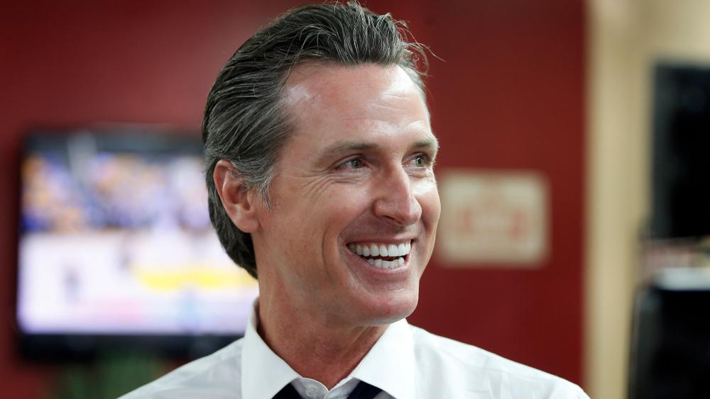 California Gov. Gavin Newsom. (AP Photo)