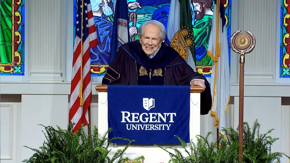 CBN and Regent Founder Pat Robertson