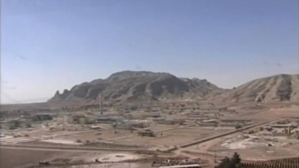 AP Video Screenshot: Exterior of Natanz nuclear facility in Irana