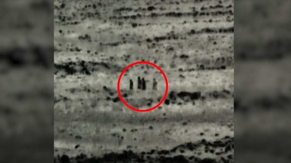 AP Video Screenshot: Four people killed by the IDF while planting bombs along the Syrian-Israeli border