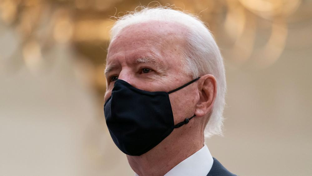 President Joe Biden, Jan. 21, 2021 (AP Photo/Alex Brandon)